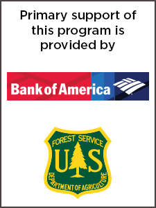 American Forests Community ReLeaf primary partners, Bank of America and the USDA Forest Service