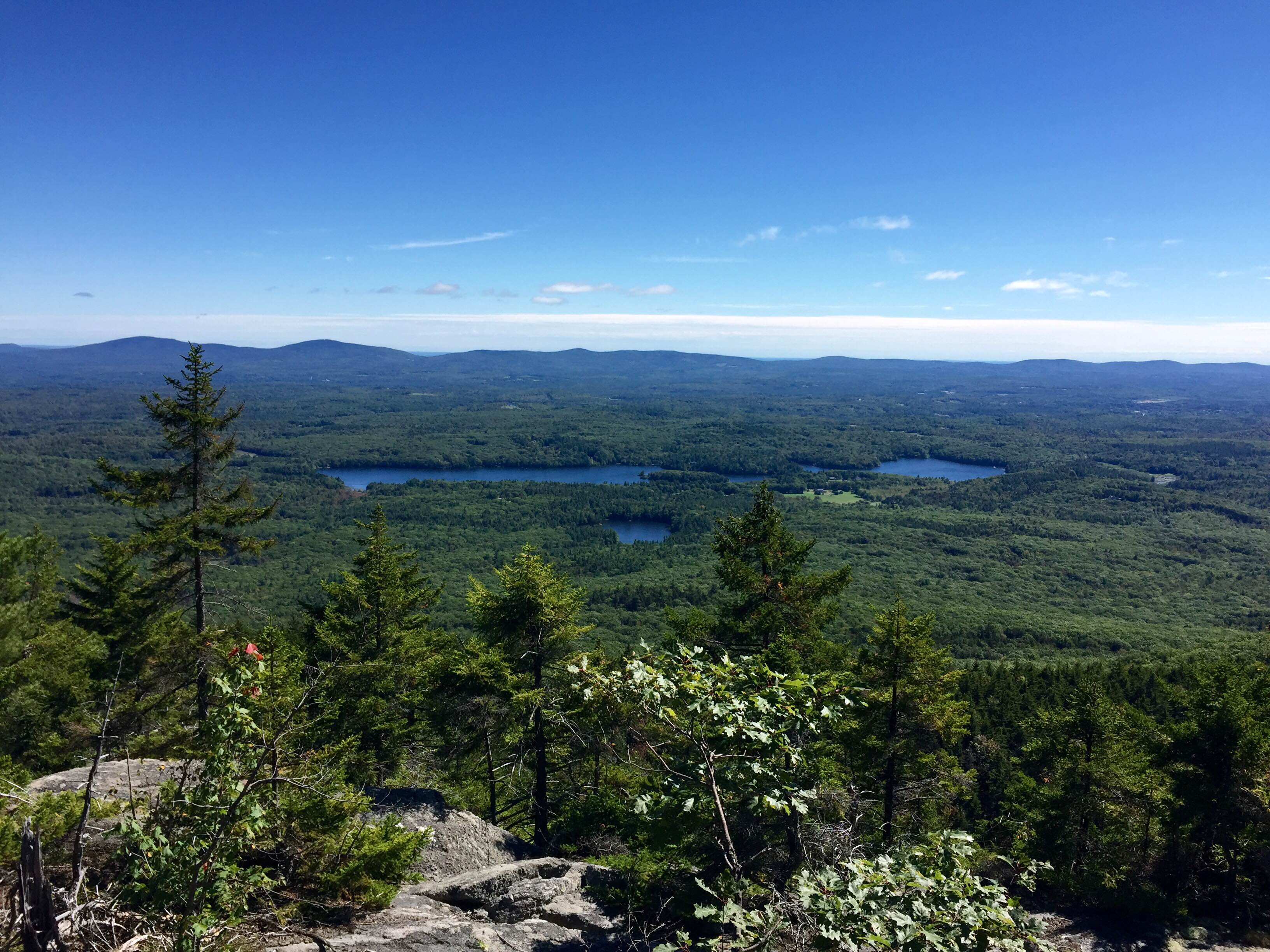 Mount Monadnock in New Hampshire.