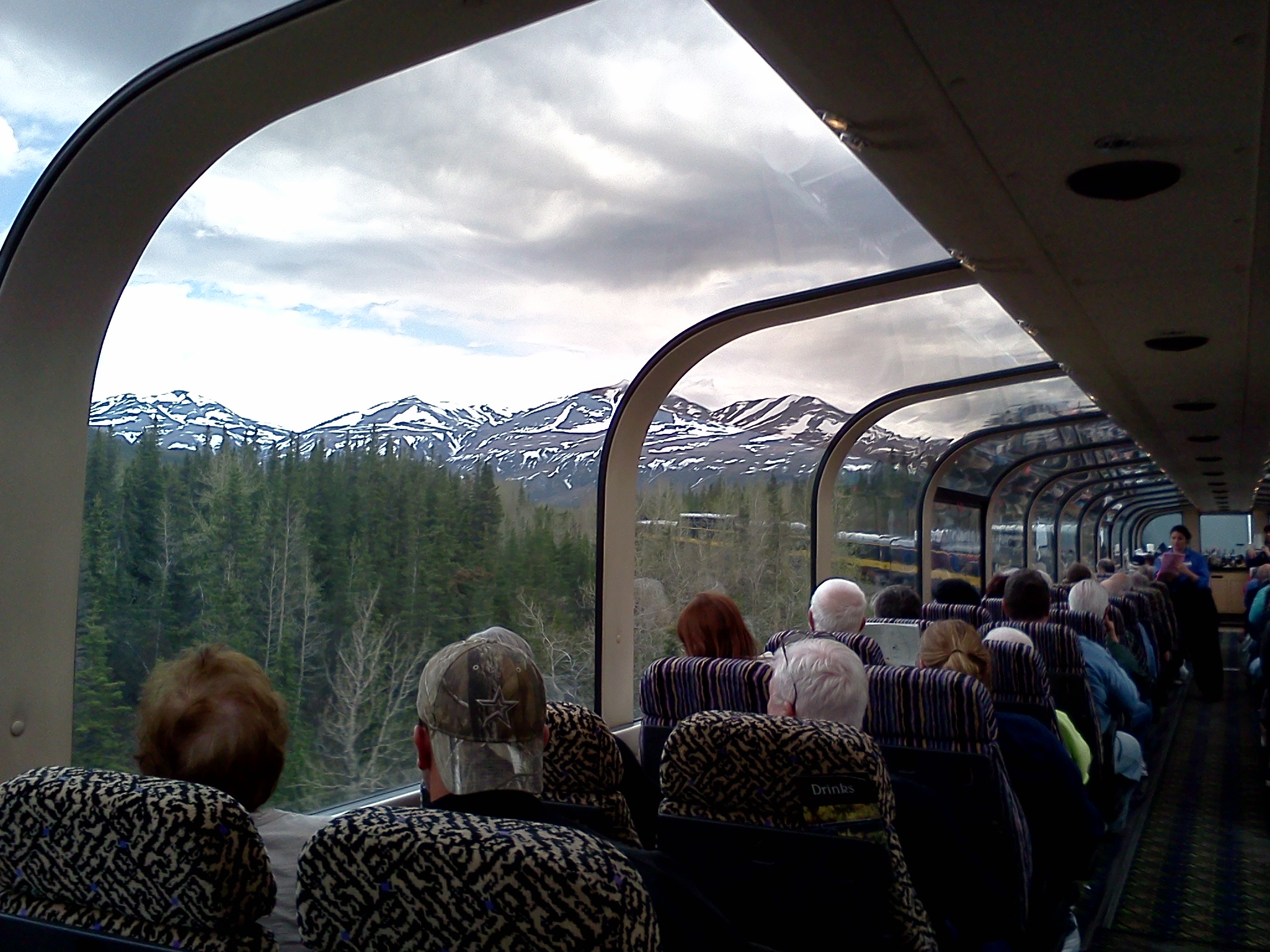 glass train ride