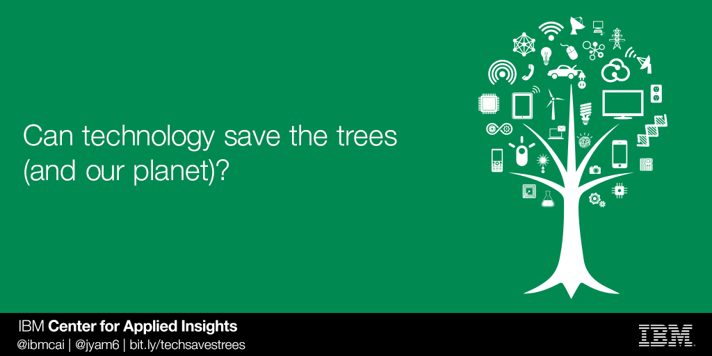 Can tech save trees?