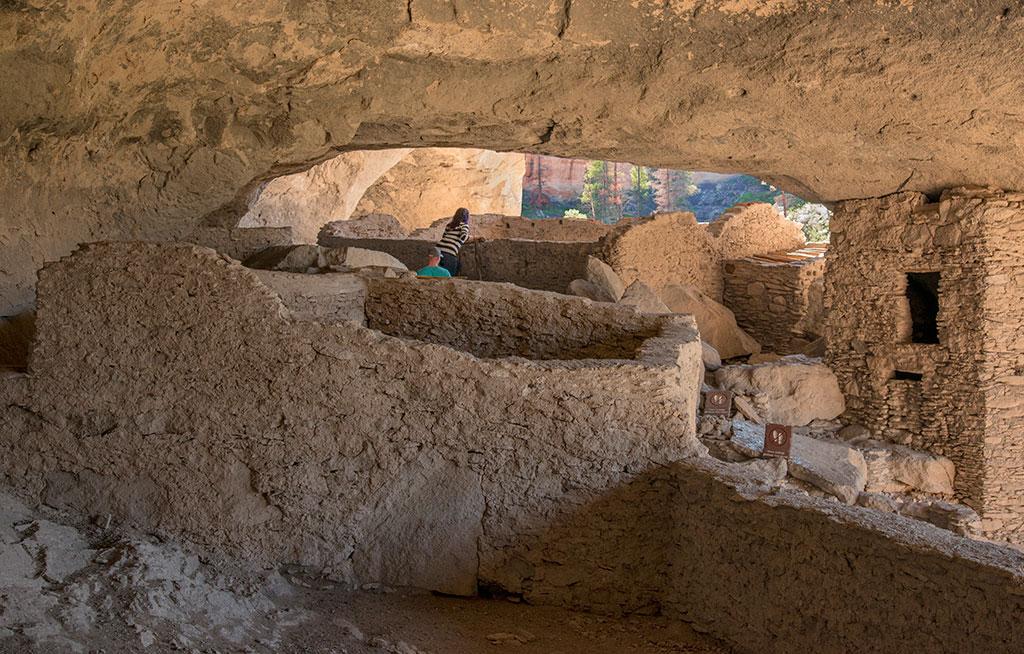 Gila Cliff Dwellings.