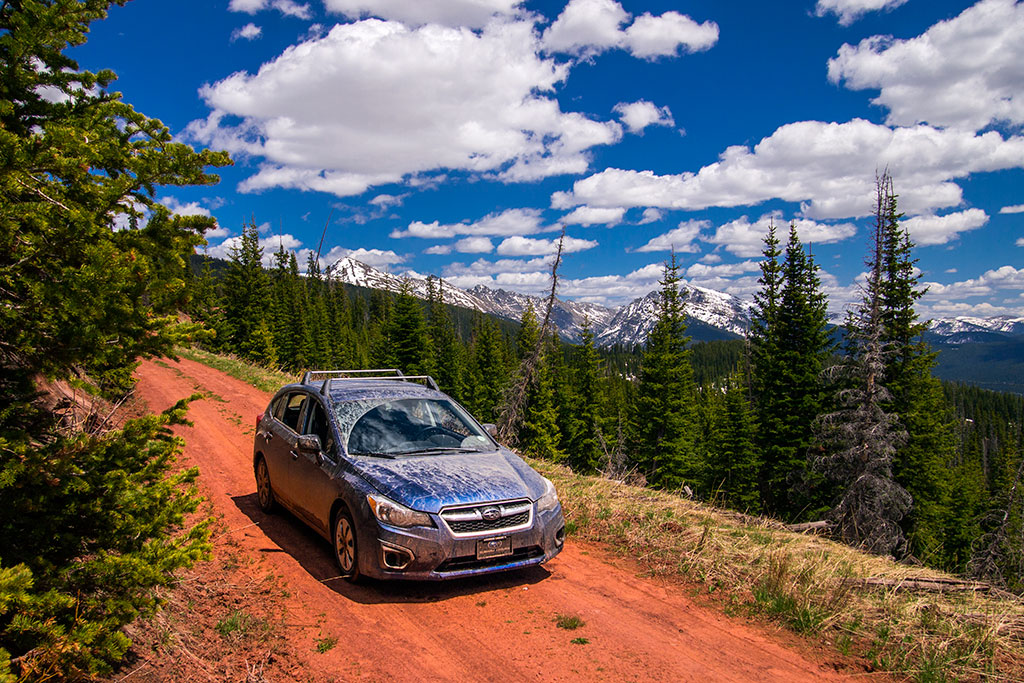 Hat Creek Road, Crooked Creek Pass.