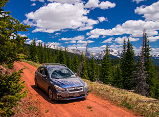 Hat Creek Road, Crooked Creek Pass