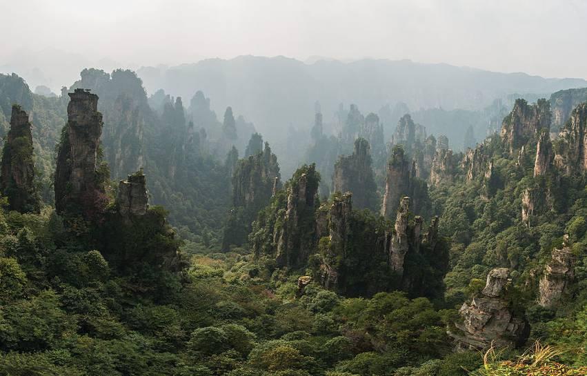 Zhangjiajie National Forest.