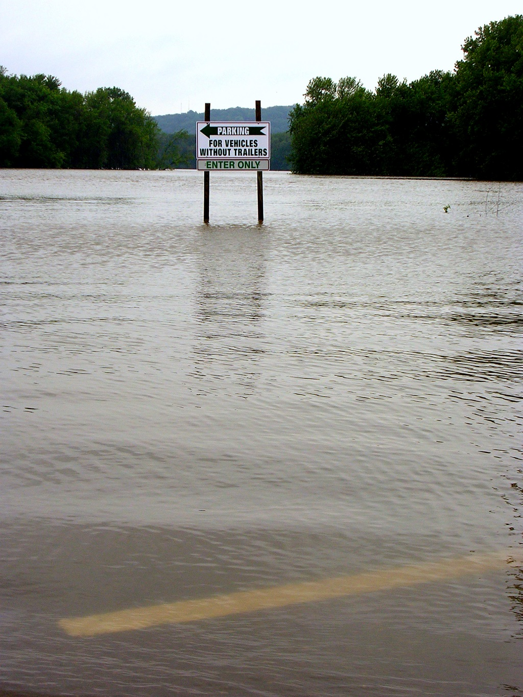 Mississippi Flood, 2008.