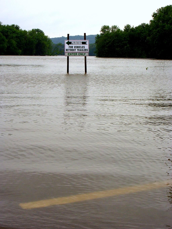 Mississippi Flood, 2008.