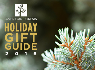 American Forests Holiday Gift Guide 2016