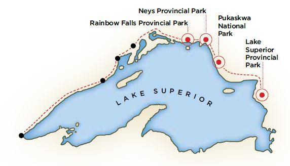 Rambling around the Big Lake The Lake Superior Circle Tour
