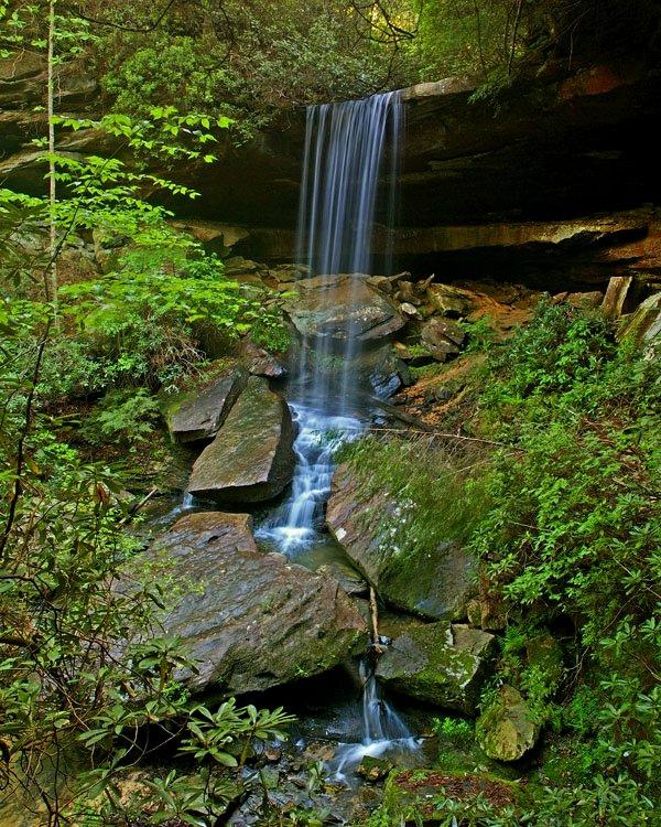 Van Hook Falls in Daniel Boone National Forest.