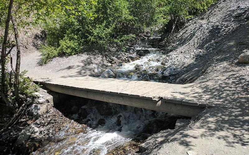 Battle Creek Falls in Utah