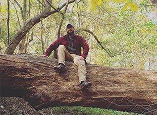 Nick in Tree