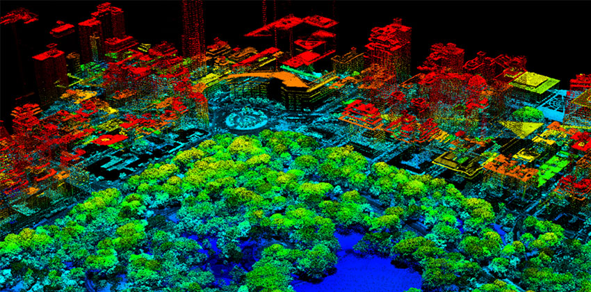 LIDAR for urban planning