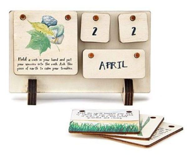 uncommongoods wooden calendar