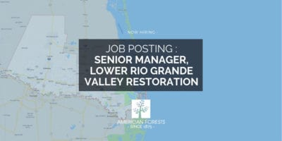 LRGV Job posting hiring texas conservation
