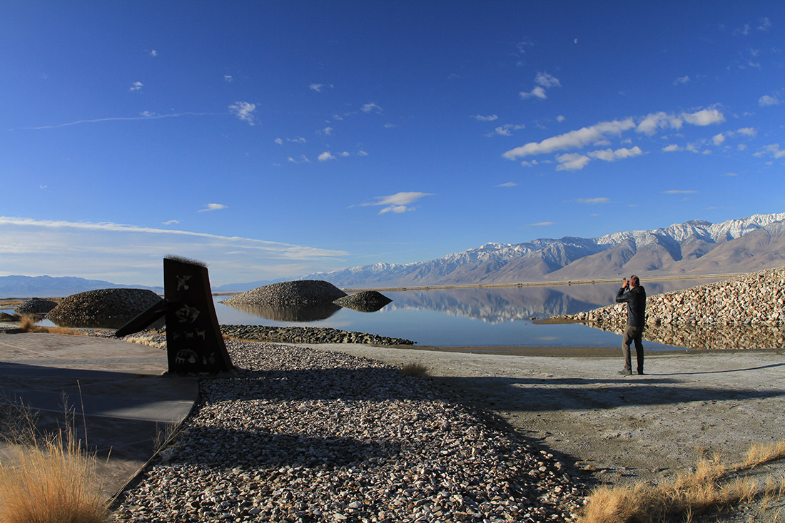 Bird watching is a major draw to Owens Lake.