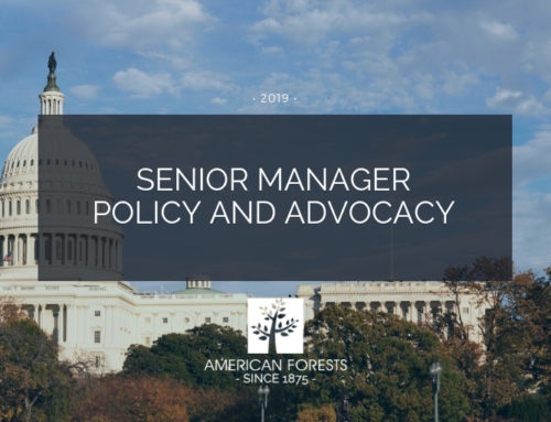 Job Posting: Senior Manager, Policy and Advocacy