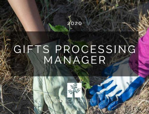 Job Posting: Gifts Processing Manager
