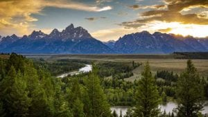 Grand Tetons Mountains