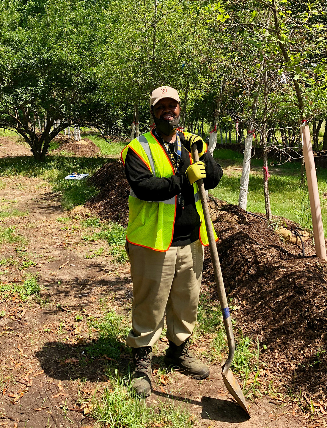 "After being incarcerated, William Rucker joined an urban forestry training program with The Greening of Detroit. He now works for ""The Greening"" but has also started his own landscaping business."