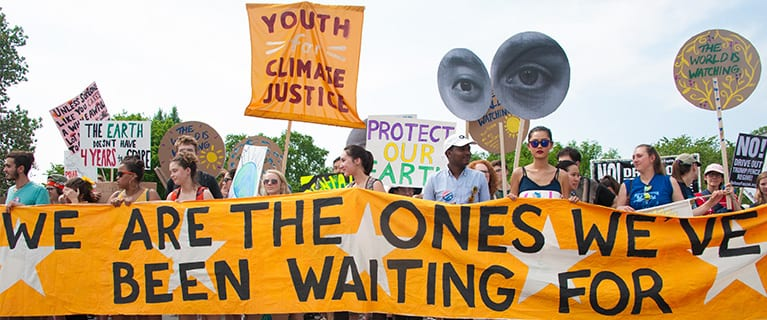 Youth are leading everywhere on all aspects of climate action